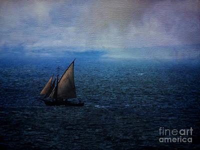 Photograph - Sailing Away by Karen Lewis
