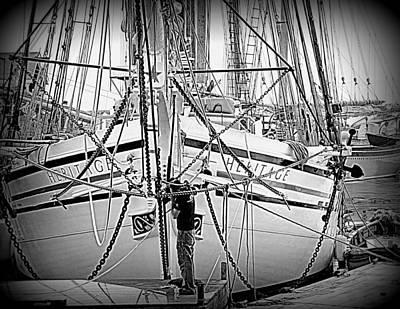 Photograph - Sailing Heritage  by Doug Mills