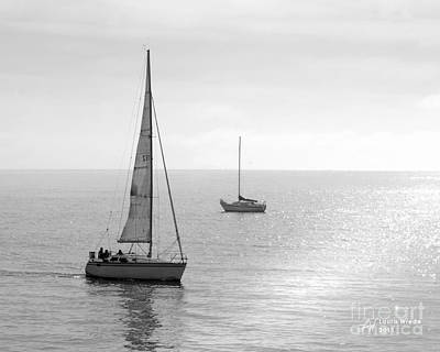 Sailing In Calm Waters Art Print by Artist and Photographer Laura Wrede