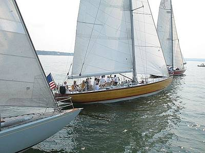 Photograph - Sailing In Sag Harbor by Colleen Rugg