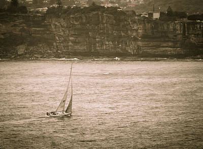 Photograph - Sailing Into Sydney Harbour by Fran Woods