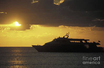 Photograph - Sailing Into The Sun Cozumel Mexico by John  Mitchell