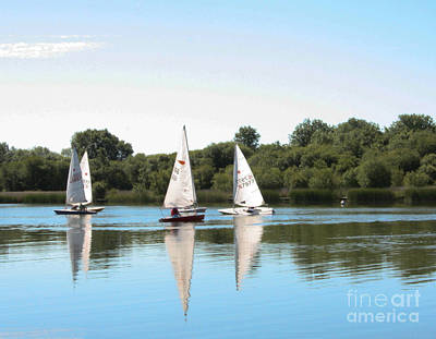 Photograph - Sailing by Jo