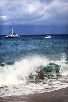 Photograph - Sailing Maui by Marilyn Hunt