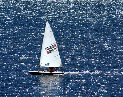 Art Print featuring the photograph Sailing by Patrick Witz