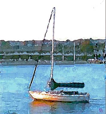 Painting - Sailing by Paula Greenlee