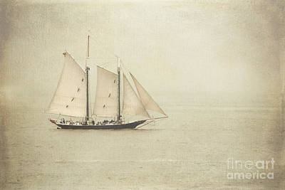Sailing Ship Art Print by Hannes Cmarits