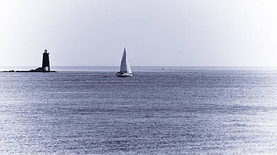 Photograph - Sailing The Silversand by Edward Myers