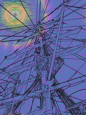 Sound Digital Art - Sailors Beck And Call Ll by Tim Allen