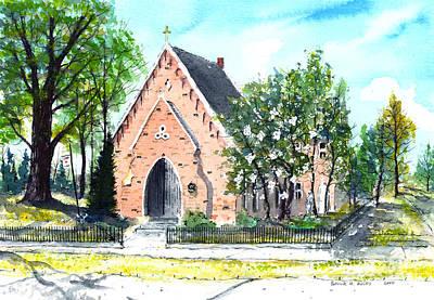 Saint Andrew's Episcopal Church Art Print by Patrick Grills