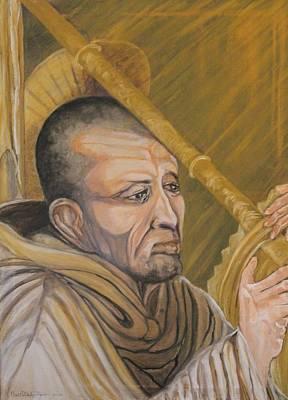 Saint Bernard Of Clairveaux Art Print