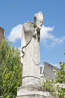 Photograph - Saint Denis Holding His Head by Fabrizio Ruggeri