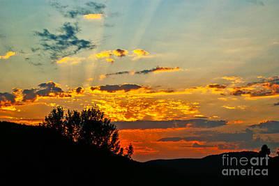 Photograph - Saint-donat Sunset by Aimelle