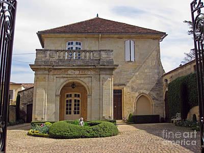 Caberet Photograph - Saint-emilion Chateau by Rod Jones