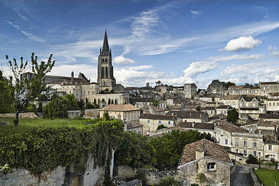 Photograph - Saint Emilion by Wes and Dotty Weber