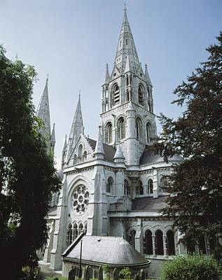 Saint Finbarres Cathedral, Cork City Art Print by The Irish Image Collection