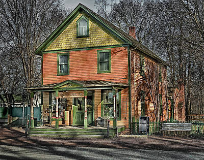 Photograph - Saint James General Store by Steve Zimic