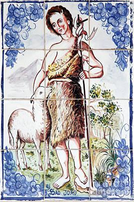 Saint John Art Print by Gaspar Avila
