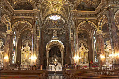 Photograph - Saint Josaphat Church by David Bearden