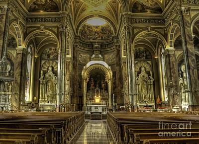 Photograph - Saint Josephat In H D R by David Bearden