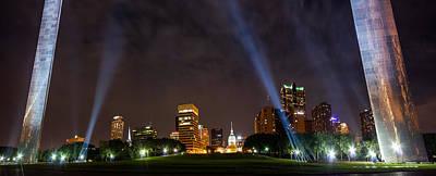 Photograph - Saint Louis Lights by Semmick Photo