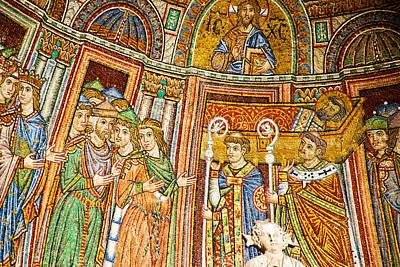 Saint Mark's Basilica Mosaic Art Print by David Waldo