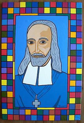 Saint Oliver Plunkett Of Ireland Original by Eamon Reilly