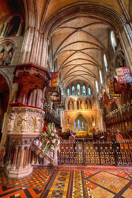 Photograph - Saint Patrick Cathedral- Dublin by John Galbo
