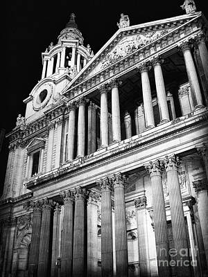 Photograph - Saint Paul's Cathedral - Front by Thanh Tran