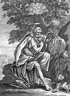 Saint Peter (d. 67) Art Print by Granger