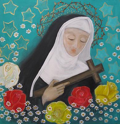 Painting - Saint Rita by Maria Matheus Maria Santeira