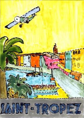 Saint Tropez Painting - Saint Tropez by Phil Strang