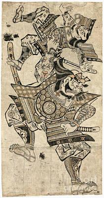Photograph - Saito Musashibo Benkei by Granger