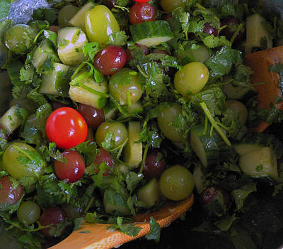 Photograph - Salad  by Dragan Kudjerski