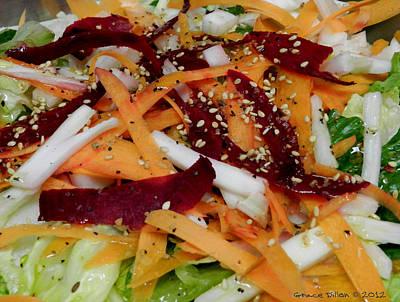 Photograph - Salad by Grace Dillon