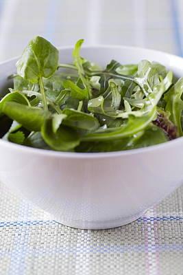 Vinaigrette Photograph - Salad by Veronique Leplat