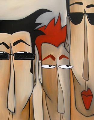 Sales Crew Art Print by Tom Fedro - Fidostudio