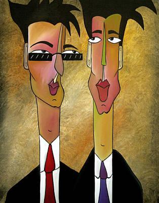 Sales Team Art Print by Tom Fedro - Fidostudio