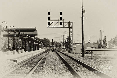 Photograph - Salisbury North Carolina Depot by Wilma  Birdwell