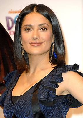 At A Public Appearance Photograph - Salma Hayek At A Public Appearance by Everett