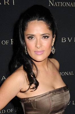 False Motion Photograph - Salma Hayek At Arrivals For 2008 by Everett