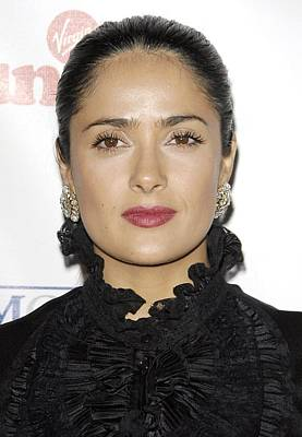 Branson Photograph - Salma Hayek At Arrivals For Sir Richard by Everett