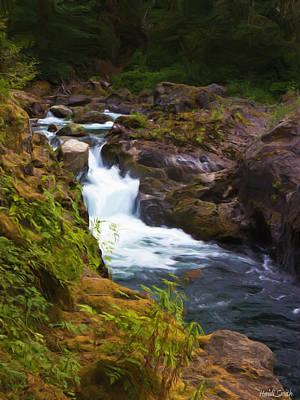 Photograph - Salmon Cascades by Heidi Smith