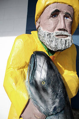 Photograph - Salmon Fisherman by Susan Alvaro