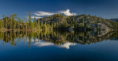 Photograph - Salmon Lake Panorama by Greg Nyquist