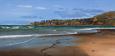 Painting - Salt Creek Beach  Dana Point Painting by Cliff Wassmann