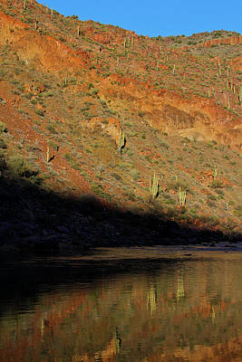 Photograph - Salt River Sunset by Atom Crawford