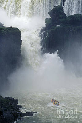 Photograph - Salto San Martin - Iguazu Falls by Craig Lovell