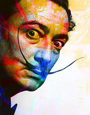 Salvador Dali Print by Andrew Osta