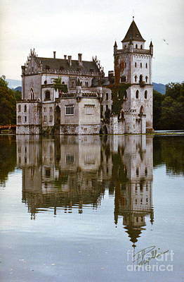 Photograph - Salzburg Castle Austria by Phyllis Kaltenbach